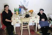 Evangelia Čarasová, nejstarší obyvatelka kraje oslavila stošesté narozeniny.