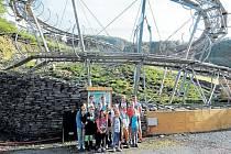 Kamzíkova stezka v Hrubé Vodě je nová adrenalinová atrakce, kterou si už vyzkoušely také krnovské děti z organizace Duha Paprsek.