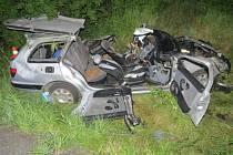K tragické nehodě došlo ve čtvrtek 7. července o půl desáté večer mezi Lomnicí a Valšovem.