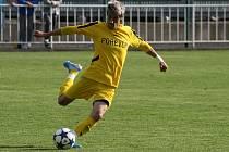 Miroslava Daříčka v krnovském dresu nějakou dobu neuvidíme, za červenou kartu v utkání v Polance dostal od disciplinární komise stop na čtyři zápasy.