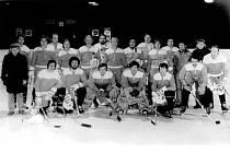 Mužstvo krnovských hokejistů, které v sezoně 1978/79 poprvé v historii zvítězilo v okresním přeboru.