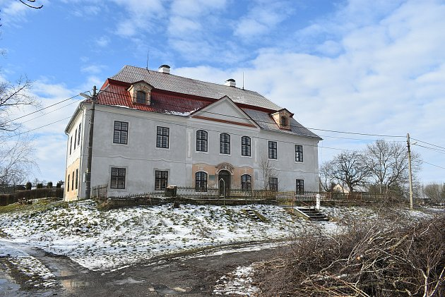 Zámek ve Slezských Pavlovicích prokoukl díky dotaci - nyní.