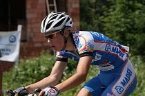 David Dvorský při jízdě na Beskyd Tour 2009 rozhodně nezklamal.