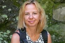Renata Charousková, krnovská umělkyně.