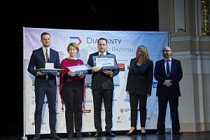 Předání ceny Diamanty českého byznysu se zúčastnil také jednatel Den Braven production s.r.o Miroslav Mohyla.