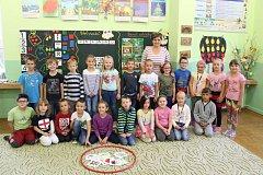 Žáci 1.A třídy Základní školy Břidličná