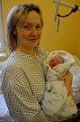 První dítě okresu Bruntál roku 2019 - maminka Kristýna Tošenovská přivedla na svět v krnovské porodnici 1. ledna 2019 syna Matěje.