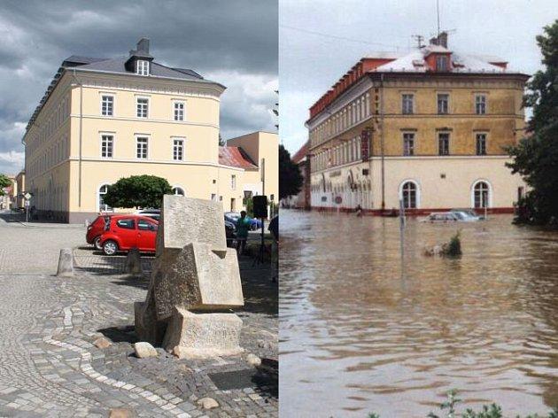 Upamátníku povodní zroku 1997se sešli Krnované uctít tichou vzpomínkou dva muže, Rudolfa Gibase a Jana Zahradníka, kteří před dvaceti lety přišli oživot.