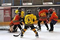 Mladí hokejisté Krnova, hrající za 4. třídu, si poradili s Černými vlky z Rožnova.