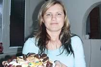 Jana Ručková ráda peče cukroví všeho druhu, jedním z nich si vysloužila příjemný víkendový pobyt s manželem.