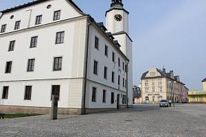 Radnici v Rýmařově poničil výbuch.
