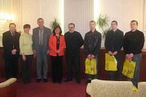 Renata Ramazanová přijala na krnovské radnici polské studenty.