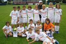 Mladší žáci Olympie Bruntál překvapivě zvítězili na mezinárodním fotbalovém turnaji v Oldřišově.