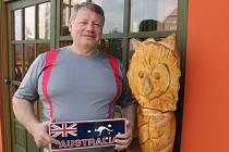 Zdeněk Pešat z Meziny měl to štěstí, že mohl strávit celý měsíc v Austrálii a také na Tasmánii.