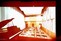 Takto by měl asi za rok vypadat například malý sál frenštátského kulturního domu.