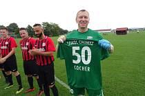 Fotbalový veterán Josef Cocher