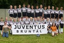 Fotbalové družstvo Juventus Bruntál.