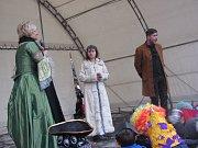 Vystoupení opavského divadla Gafa zpestřilo ve středu 14. února krnovský masopust.