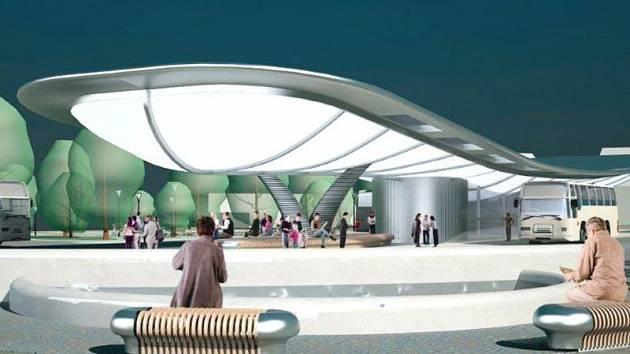 Autorka původního návrhu stanoviště a také jeho okolí Denisa Barvíková z Ostravy sdělila Deníku, že se současná podoba dopravního terminálu značně liší od jejího původního návrhu.