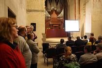 Koncertní sín sv. Ducha v Krnově - Ilustrační foto.
