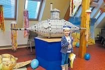 Zápis ve Městě Albrechticích loni paní učitelky pojaly jako námořní výpravu.