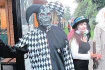 Strašidla budou dělat společnost cestujícím, kteří v sobotu večer vyrazí parním vlakem na zámek do Slezských Rudoltic.