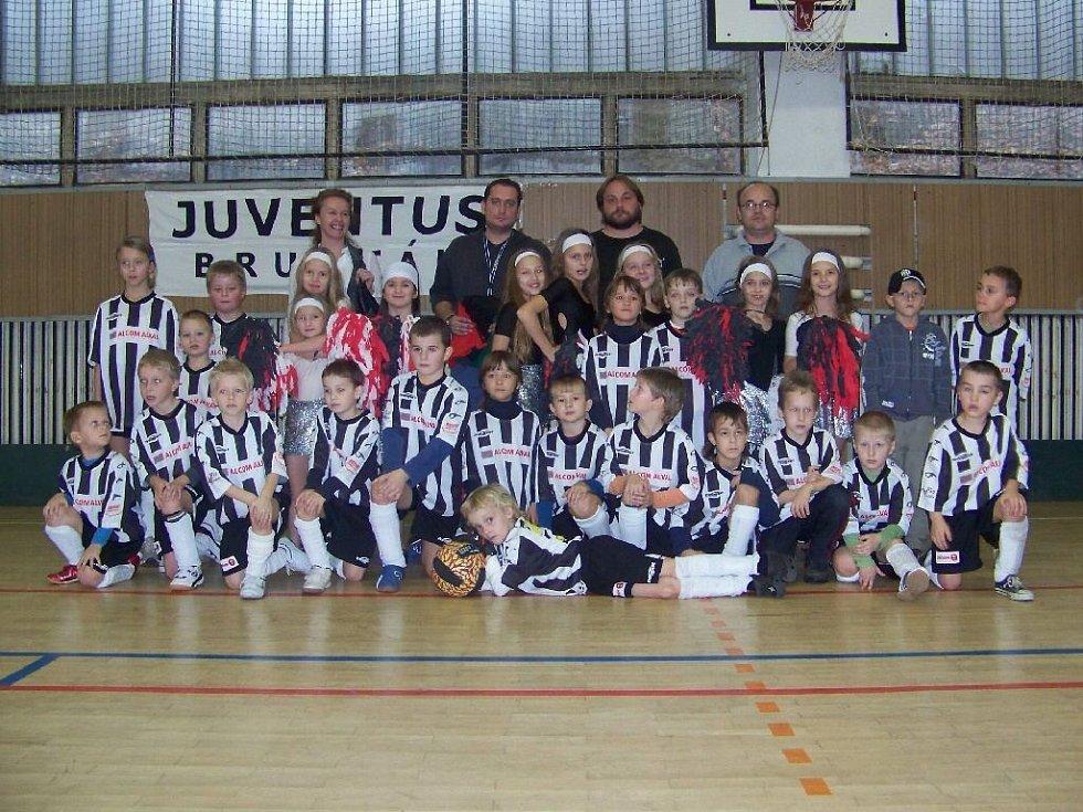 Fotbalisté Juventusu Bruntál.