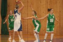 Krnovské basketbalistky podlehly oběma soupeřům.