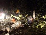 Říjen roku 2009 připravil dobrovolným hasičům opravdu perné chvilky. Po boku svých profesionálních kolegů pomáhali likvidovat následky sněhových přívalů.