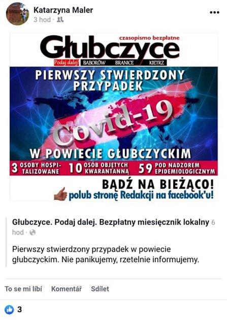 Polsko zaznamenalo příběh muže, který  hrál stolní tenis vBruntálu a pak byl uněj vnoci zpondělka na úterý potvrzen koronavirus.