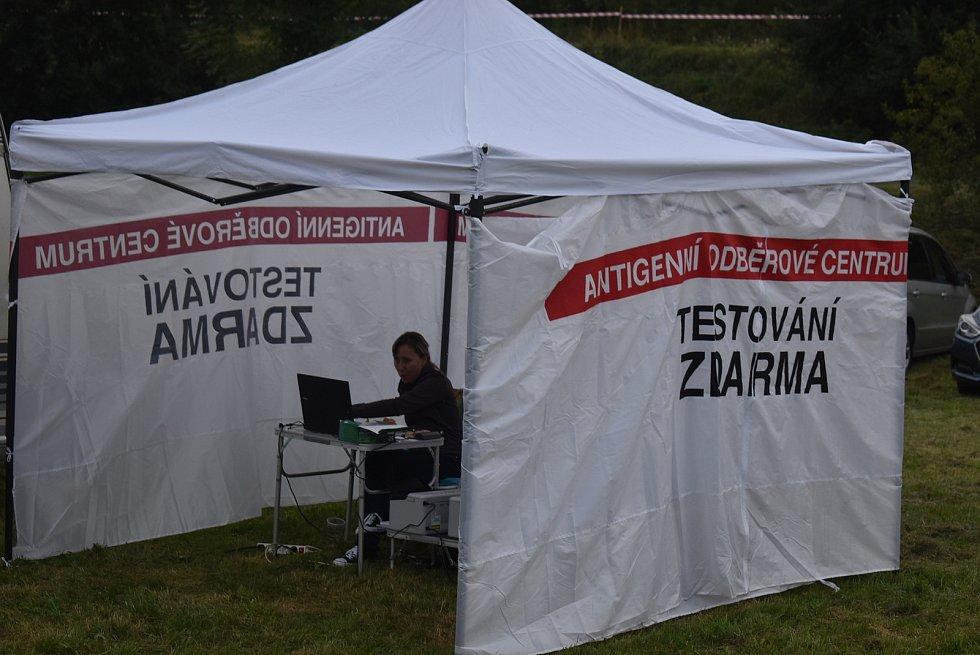 Desátý ročník festivalu Rockem proti přehradě. Srpen 2021.
