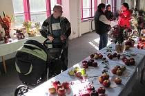 Výstava ovoce a zeleniny v Krnově.