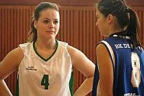 Hráčka Lokomotivy Monika Bohunská.