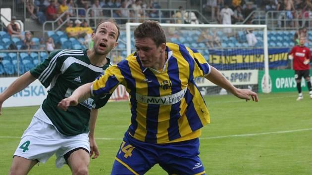 Milan Halaška (na snímku vpravo) je se svým působením v druhé lize spokojený.