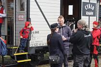 Na osoblažské úzkokolejce začala nová sezona parních jízd a také sbírka na opravu lokomotivy Malý Štokr.
