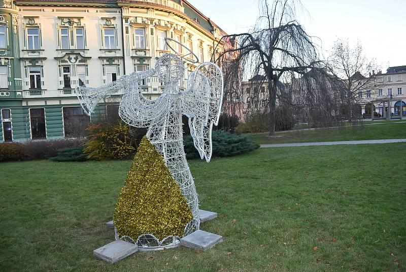 Vánoční výzdoba se v Krnově poprvé rozzáří v neděli 29. listopadu.