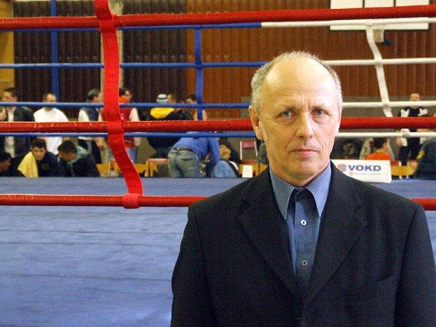 Trenér krnovských boxerů Jaroslav Morbitzer.