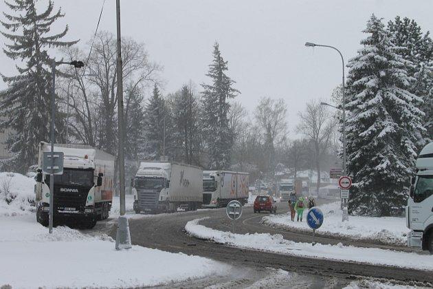 Situace ve středu 19.dubna 2017vBruntále a okolí.