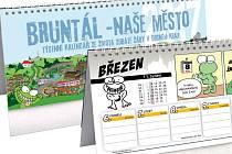 Kalendář se zubatou žábou přináší nejen výběr těch nejlepších komiksů, který vyšly v našich novinách, ale také tipy na plánované kulturní a společenské akce v Bruntále a okolí.