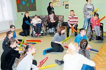 Středisko Méďa už počtvrté připravilo projekt, při kterém se společně baví handicapované děti se svými vrstevníky.