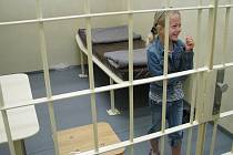 Pobyt za mřížemi si chtěl vyzkoušet téměř každý. Jedním z odvážlivců byla i Terezka Sedláčková.