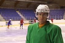 Generální manažer krnovského hokejového klubu Roman Tichý.
