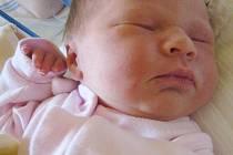 Natalie Petříčková, narozena 26.10. 2010, míra 49cm, váha 3,300kg, Břidličná. Maminka Dagmar Petříčková, tatínek Jakub Hromek.