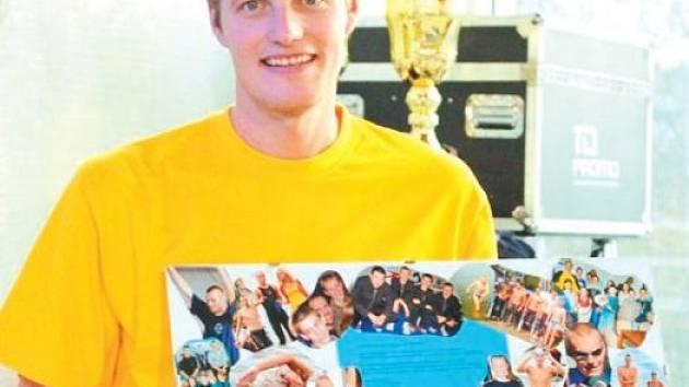 Na Ceně Krnovska se rozloučil s úspěšnou profesionální kariérou odchovanec plaveckého oddílu TJ Krnov Libor Smolka.