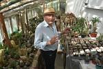 Fascinující sbírka kaktusů Rudolfa Poloka je atrakcí Třemešné.