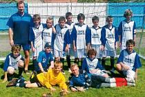 Reprezentační výběr OFS Bruntál zakončil skvělou letošní sezonu čtvrtým místem na republikovém finále Danone Cup 2012 v Hluku na Moravě.