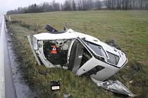 Tragická nehoda u Valšova.