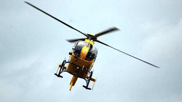 Vrtulník Kryštof 05. Ilustrační foto.