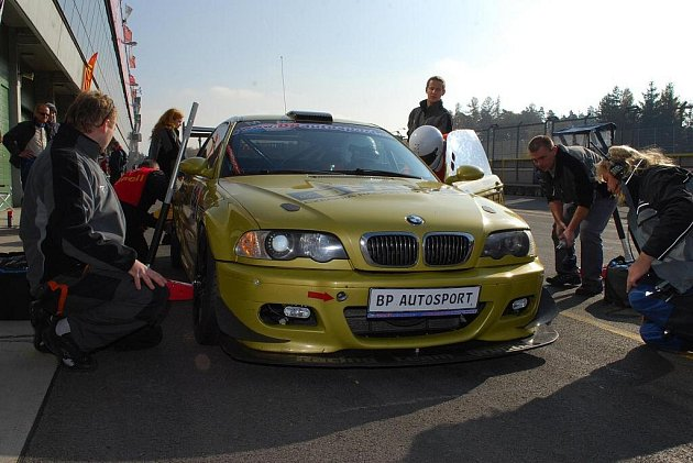 Zlaté BMW a team BP Autosport Bruntál.