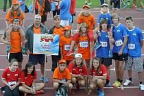 Výprava sportovců Základní školy Rýmařov se probojovala v projektu Odznak všestrannosti olympijských vítězů až do republikového finále v Praze, kde náš okres skvěle reprezentovala.
